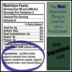 totw tuesday the most important thing to look at on a With how must ingredients be listed on cosmetic labels