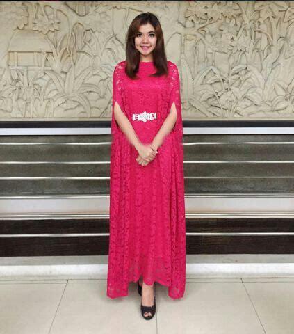 dress terbaru kaftan cape brukat cantik ryn fashion