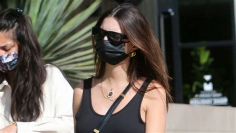 Emily Ratajkowski Shows Off Growing Baby Bump In Little ...