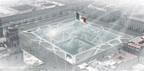Earth-scraper: Architects design 65-storey building 300 ...