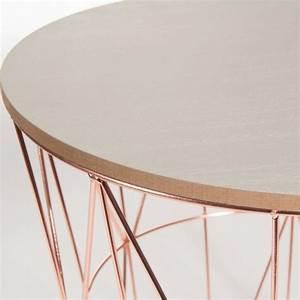 Bout De Canapé Filaire : bout de canap en m tal d 40 cm d co pinterest ~ Farleysfitness.com Idées de Décoration