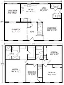 Two Story Floor Plans U And U Modular Homes Two Story Floorplans
