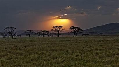 Africa Wallpapers Desktop Afrika Mobile Backgrounds Sunset