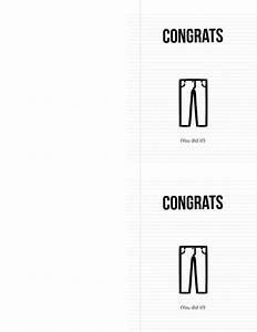 how to fold money into pants graduation card quot smartie quot pants landeelu com