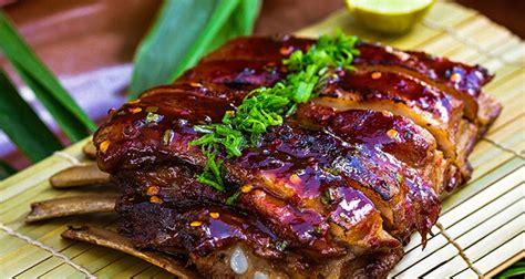 sauge cuisine pina colada pork ribs recipe by plavaneeta borah ndtv food
