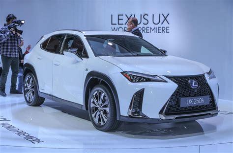 lexus ux crossover priced     uk autocar