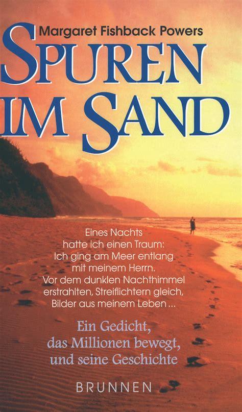 spuren im sand buch gebunden
