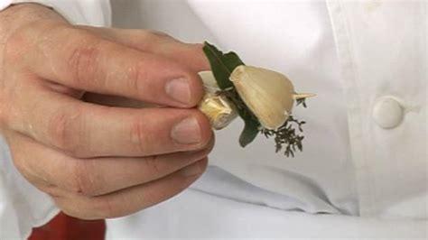 bouquet garni cuisine préparer un bouquet garni astuce cuisine vins