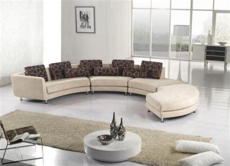 modern living room designs  stylish curved sofas