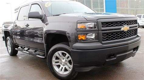 chevrolet silverado  wt  depth video walk