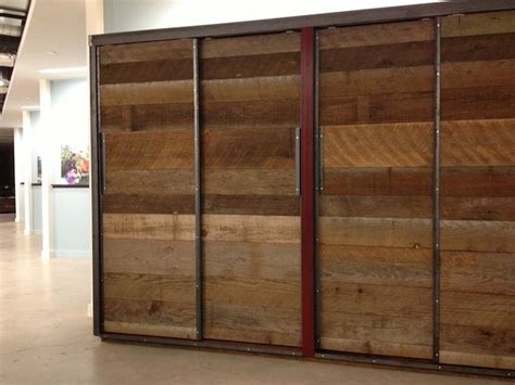 barn wood wardrobe closet freestanding  forterra