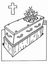 Funeral Coloring Pages Holiday Template sketch template