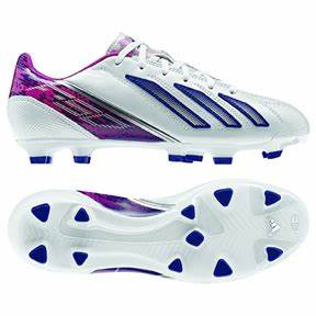 adidas Womens F30 TRX FG Soccer Shoes White Ink Pink