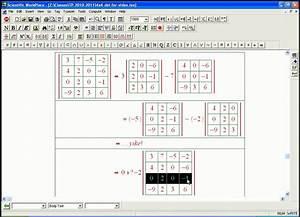 Inverse Matrix 4x4 Berechnen : determinant calculation 4x4 example youtube ~ Themetempest.com Abrechnung