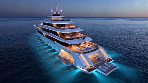 superyacht from columbus robb report