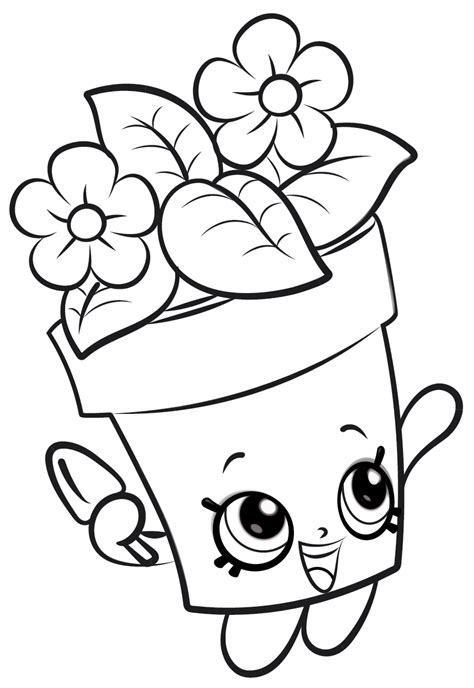 Coloring Pages by 16 Unique And Shopkins Coloring Pages