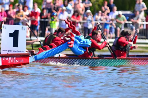 Dragon Boat Norfolk by Gong Hey Fat Choy Here Come The Dragons East Anglian