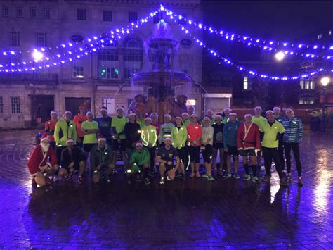 christmas lights run wreake runners