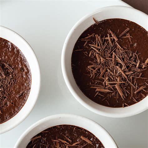 chocolate pot recipe orange infused chocolate pots recipe living