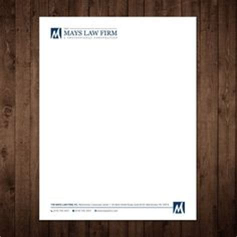 lawyer law firm business card letterhead template
