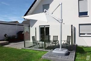 Terrasse Gefälle Berechnen : windschutz f r die terrasse glasprofi24 ~ Themetempest.com Abrechnung