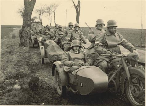 ww2 military motorcycle 74 military bmw sidecars ww2