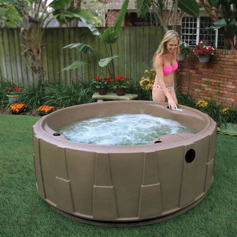 Aquarest Spas Ar200 4person Spa With 14 Jet In Stainless