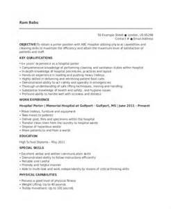 hospital resume porter resume template 6 free word pdf documents free premium templates