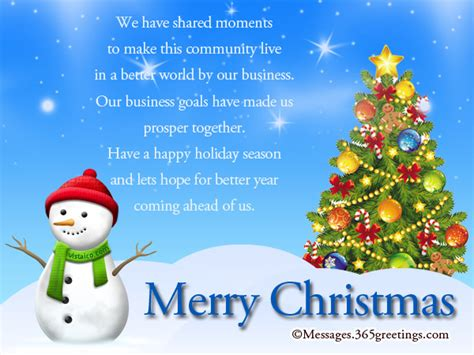 christmas greeting company messages for clients 365greetings