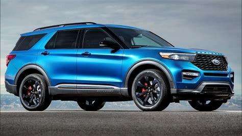 ford explorer st powerful  fun  drive ford suv