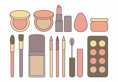 Vector Cosmetics Makeup Cosmetic Vectors Clipart Graphics