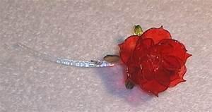 Rose In Glas : blown glass roses ~ Frokenaadalensverden.com Haus und Dekorationen
