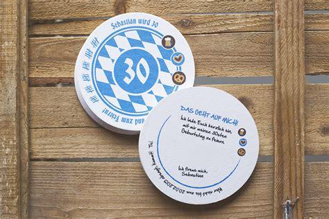 einladungskarten bierdeckel bayrisch einladungen