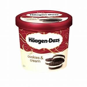 Buy Haagen-Dazs Cookies & Cream Ice Cream 100 ml Jar ...