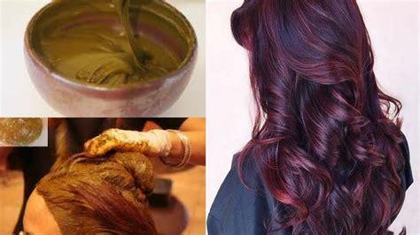 burgundy color  hennahow  colour hair