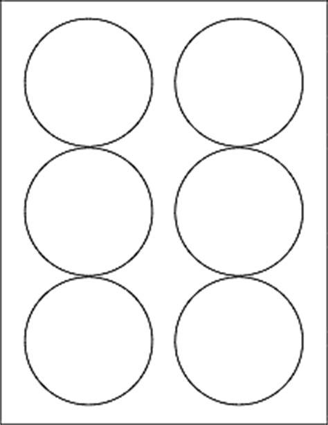 Psd Template 6 Circles 3 Inch Diameter 3 33 Quot Circle Labels Ol375