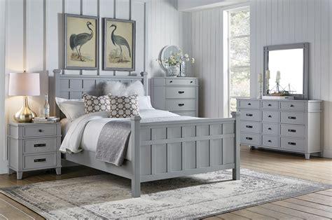 Felicity Grey 4pc Queen Bedroom Set