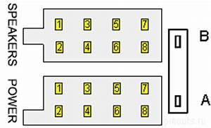 16  8 8  Pin Car Stereo Iso Connector   Pinouts Ru
