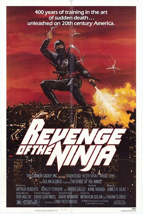 Filme American Ninja - peter s retro movie review revenge of the ninja 1983