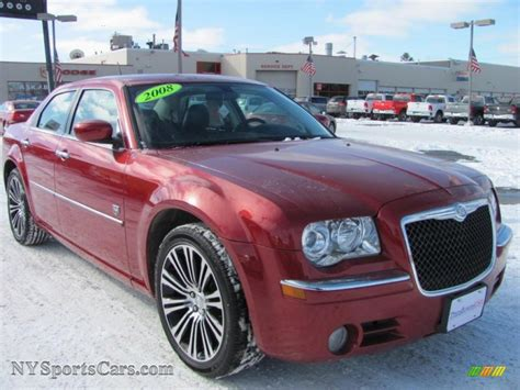 Chrysler 300 Dub by 2008 Chrysler 300 Touring Dub Edition In Inferno