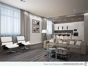 15 Modern White and Gray Living Room Ideas - Living room ...