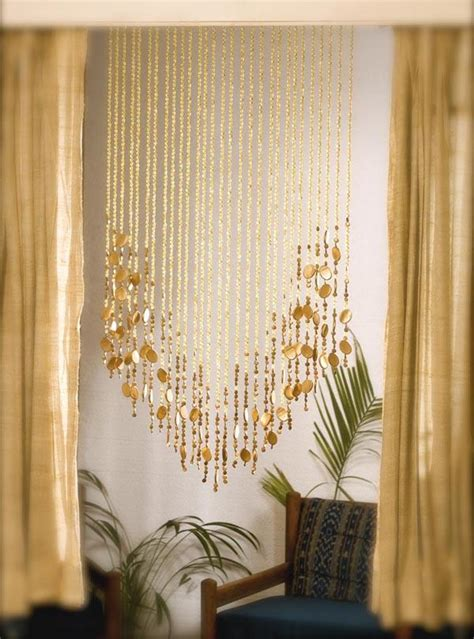 beaded curtains add  charming feature   home
