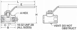 Safety Vented Ball Vacuum Valves For Vacuum Lifters And