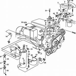 Volvo Penta 3 0 Engine Cooling Parts Diagram