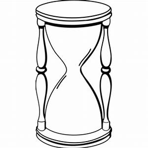 How to draw hourglass