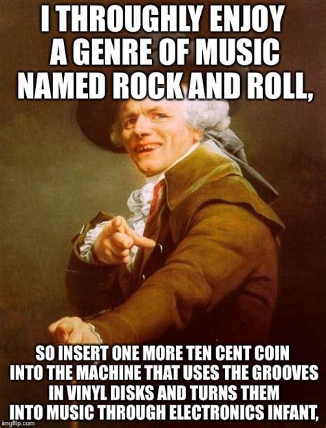 Vinyl Meme - joseph ducreux meme imgflip
