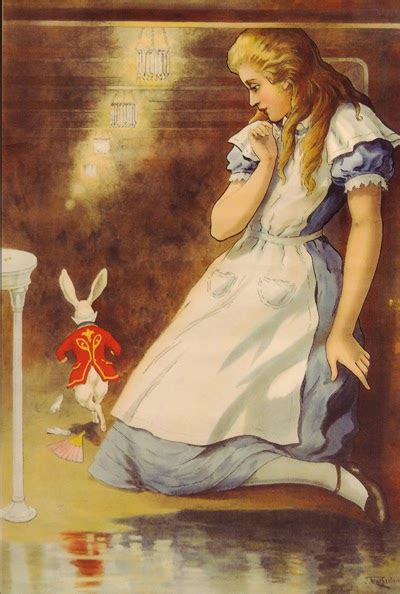booktryst scarce alice  wonderland posters   hit
