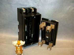 Square D 100 Amp Main Fuse Box With Lid Fits Fsp Load