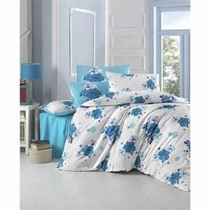 Parure De Lit Bleu : hobby parure de lit bleu brandalley ~ Teatrodelosmanantiales.com Idées de Décoration