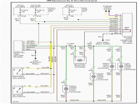 1999 subaru forester stereo wiring diagram wiring forums